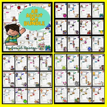 First Week of School Activities BUNDLE (Games, Worksheets and All About Me)