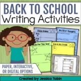 Back to School Activities Memory Book, Back to School Dist