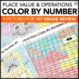 1st Grade Place Value Worksheets (2nd Grade Back to School Math Review)