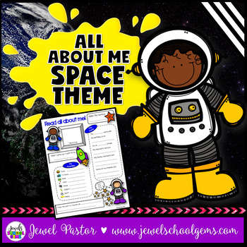 All About Me Space Theme