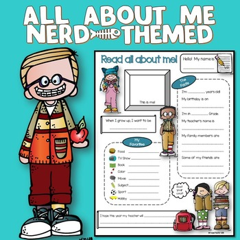 All About Me Nerd Theme
