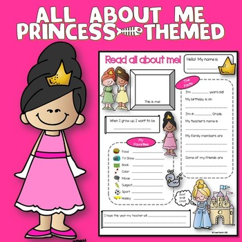 All About Me Princess Theme