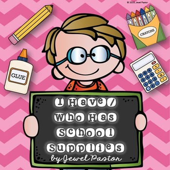 First Day of School Activities (Back to School Game I Have Who Has)