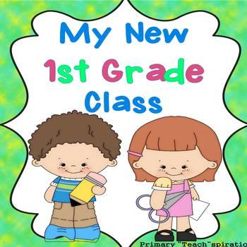 Beginning of the Year - 1st Grade