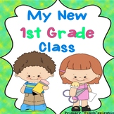 First Week of School   Beginning of the Year - 1st Grade