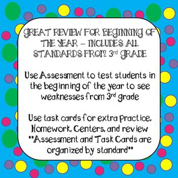 Back to School Beginning of the Year 4th Grade Math Review Google Classroom