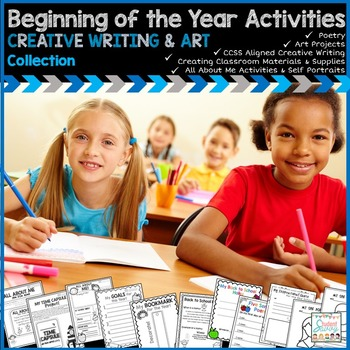 Beginning of the Year Activities - Creative Writing & Art Collection