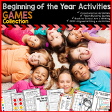 Beginning of the Year Activities - Games Collection