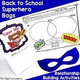 All About Me | Superhero Themed Back to School Activities