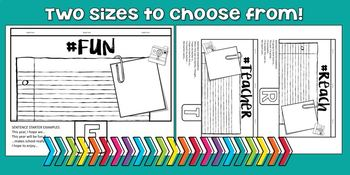 Beginning of the Year Activity 5th GRADE Tab Booklet