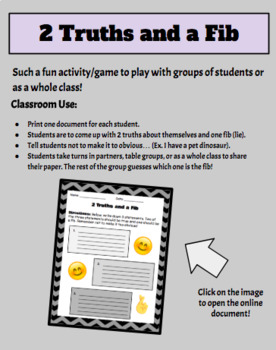 Beginning of the Year Activity Bundle!