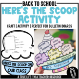 Beginning of the Year Activity - Here's the Scoop On