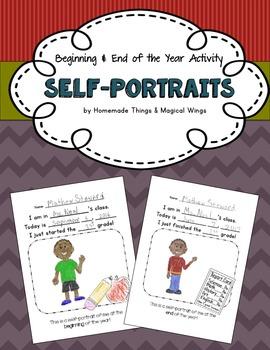 Beginning of the Year Activity: Self-Portraits {PreK - 3rd}