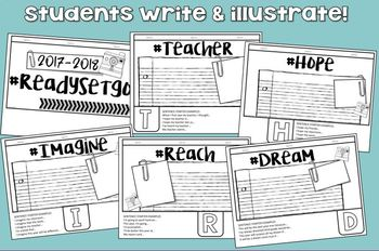 Beginning of the Year Activity THIRD GRADE Tab Booklet