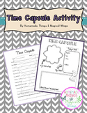 Beginning of the Year Activity: Time Capsule {3rd - 8th}
