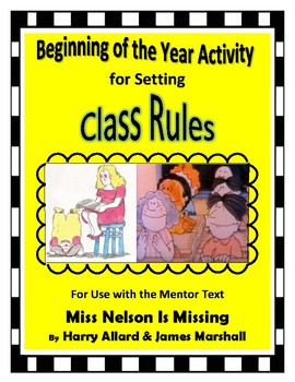Beginning of the Year Activity for Setting Class Rules