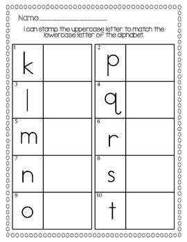 Beginning of the Year - Alphabet Fun