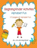 Beginning of the Year - Alphabet Fun