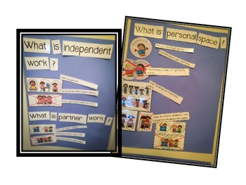 Beginning of the Year Anchor Charts for Classroom Management