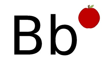 Beginning of the Year Apple Alphabet