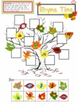 Beginning of the Year Apples & Leaves  Beginning Reader Literacy Activities