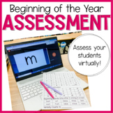 Beginning of the Year Assessment - DIGITAL