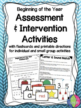Beginning of the Year Assessment & Intervention Activities