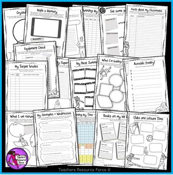 """Back to School: """"All About Me"""" Activities for big kids"""