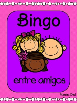Beginning of the Year Bingo / Bingo entre amigos