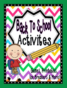Beginning of the Year Blast: 15 Beginning of the Year Activities With Printables