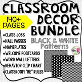 Beginning of the Year Big Bundle - Classroom Decor - Black