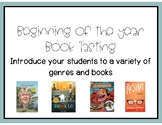 Beginning of the Year Book Tasting