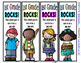 Beginning of the Year Bookmarks - 4 Designs each Preschool thru 6th Grade