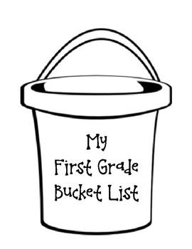 Beginning of the Year Bucket List