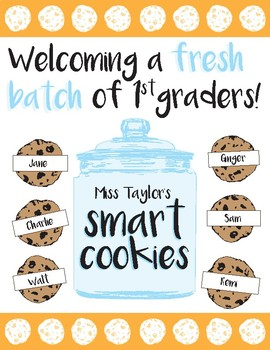 FREE Beginning of the Year Bulletin Board - Welcoming a Fresh Batch