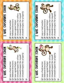 Monkey Themed Communication Packet