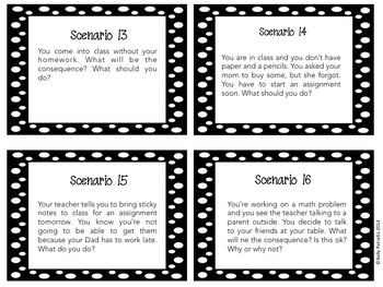 Beginning of the Year: Community Building Task Cards