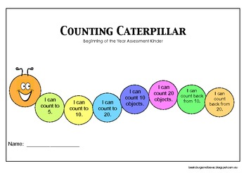 Beginning of the Year Counting Assessment