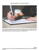 Beginning of the Year Creative Writing Unit