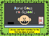 Beginning of the Year - David Goes to School