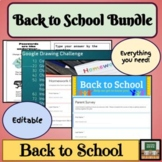 Back to School - Distance Learning - Forms - Google Traini
