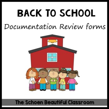 Back to School Documentation Review Form
