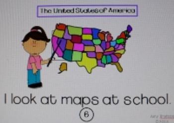 "Emergent Reader Little Book-""At School"" Sight Word & Fluency Practice"