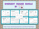 Beginning of the Year Emergent Reader Books Bundle Level A