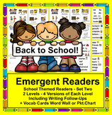 Beginning of the Year:  Back to School Mini Books + Illustrated Word Wall
