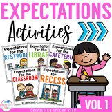 Beginning of the Year Expectations Digital Version Included