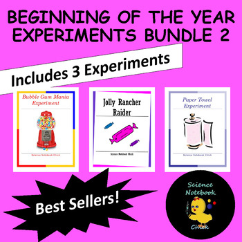 Beginning of the Year Experiments Bundle 2