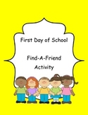 Beginning of the Year: Find-A-Friend Activity