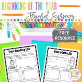 Beginning of the Year Flipgrid Surveys FREEBIE