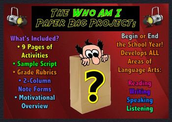 Beginning of the Year, Getting to Know Your Students, Identity Project